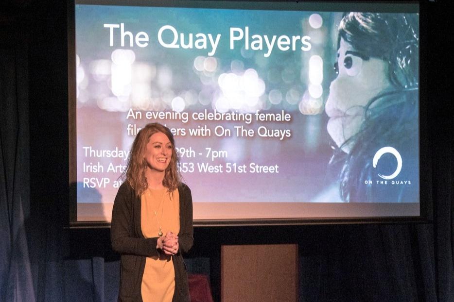 Nicola Murphy at the 2018 Quay Players at the Irish Arts Center