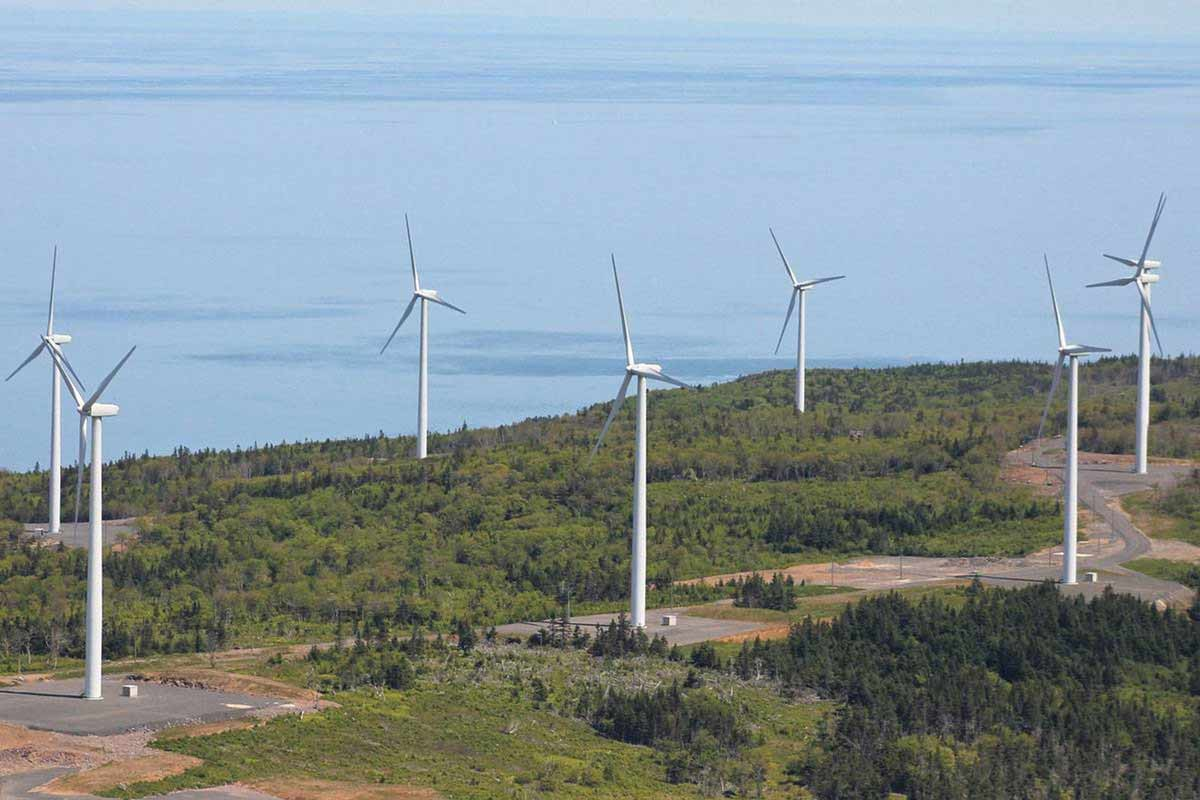 In Nova Scotia, Emera Inc. tripled its renewable energy production to 28 per cent in the last decade and is on track to reach a 58 per cent reduction in greenhouse gas emissions by 2030. SUPPLIED