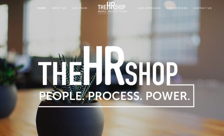 The HR Shop, LLC - The HR Shop, LLC is a consultive HR business that delivers high quality HR solutions for their small businesses and non-profits.CMS: Squarespace