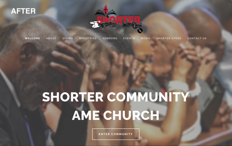Short er Community AME Church - Shorter Community AME Church is a Christ-centered, spirit-filled congregation led by the word of God with an emphasis on social justice ministry.CMS: Squarespace