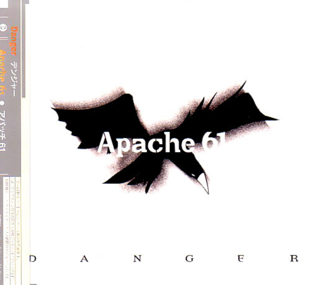 Danger   Single contains four tracks from Apache 61 album.  Released 1998