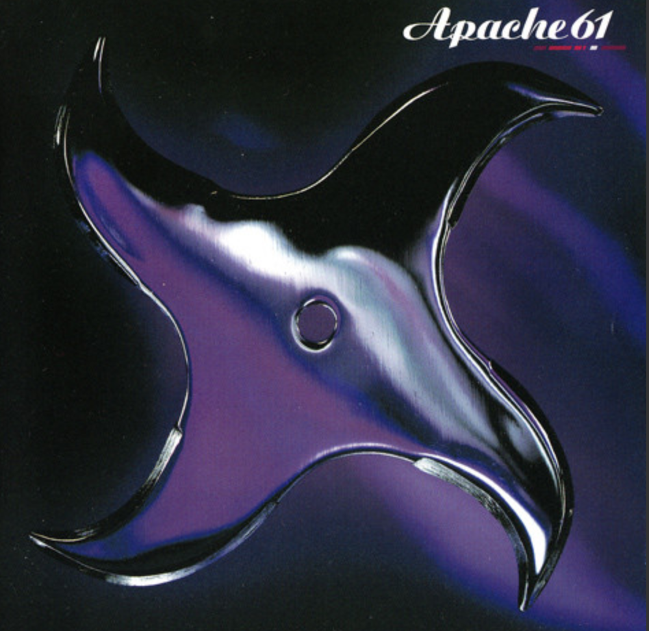 Apache 61   Apache 61 is Mieko Shimizu's Drum'n Bass act between 1996 and 2000 released from Japanese label 'Daisey World' set up YMO's Haruomi Hosono. Mick Karn plays bass on 'Cycles.  Released 1998