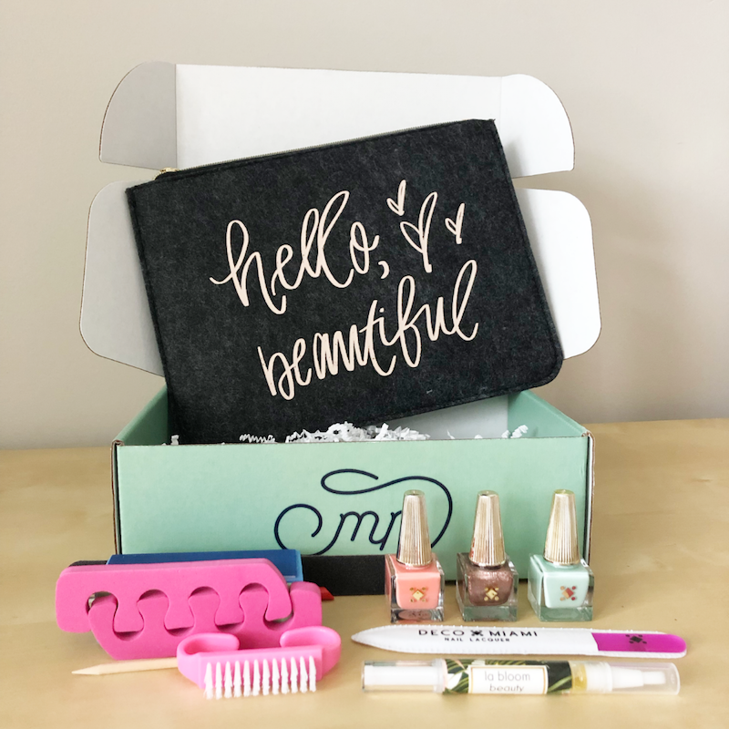 YOU - This definitely has my attention. I'll be the first to admit after 3 kiddos and working full time...taking care of me is the last thing on my mind. This box will be reaching tired Mamas like me!-Denise