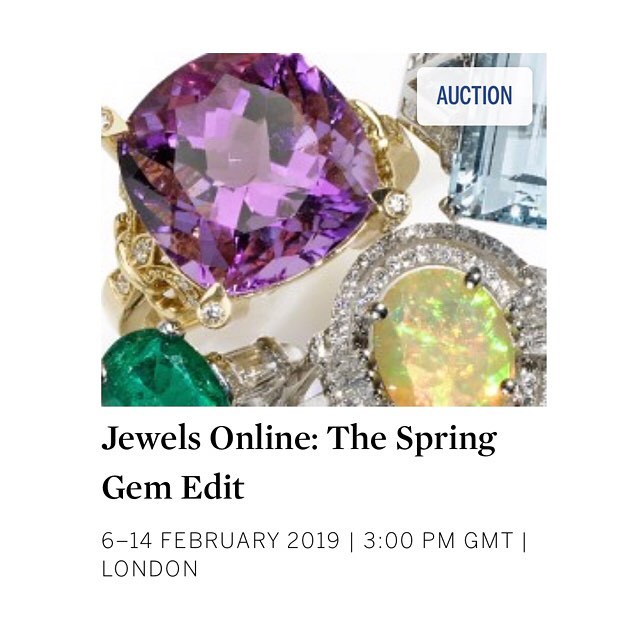 The rings in the sale are beyond beautiful... read about them on the website. Link in bio @sothebysjewels @thejewellerian