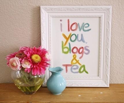 love you blogs & tea