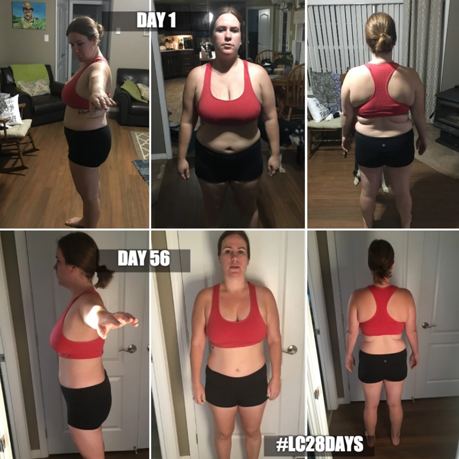 Lc28days is an amazing program. The nutritional advice paired with the awesome workouts have helped me change my body and drop in size.  - Mel B.
