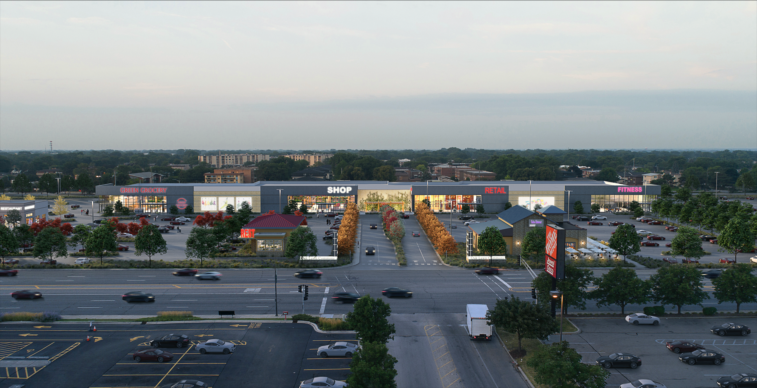 DEVELOPERS UNVEIL RETAIL DEVELOPMENT PLAN FOR OAK LAWN SHOPPING CENTER - CHICAGO TRIBUNE > 9.19.2018
