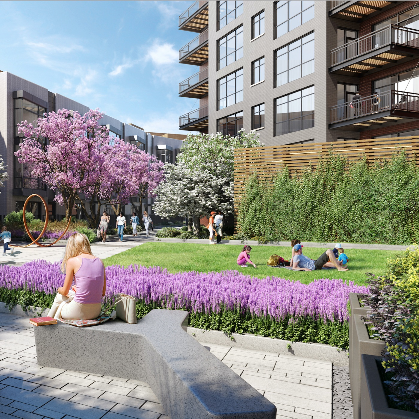 MULTIFAMILY DEVELOPMENT GREEN SPACES FOSTER SENSE OF COMMUNITY - FORBES > 9.25.2018
