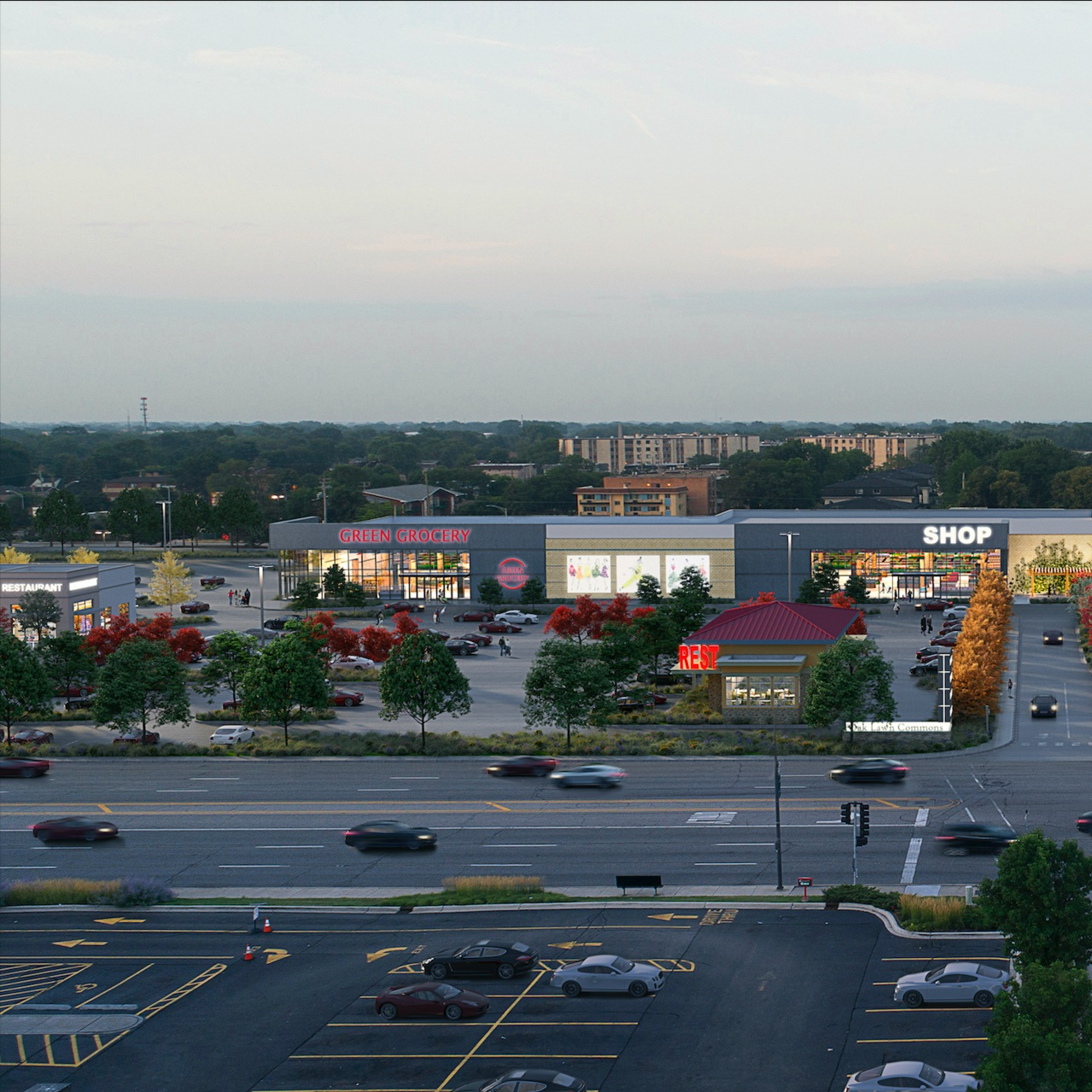 HUBBARD STREET GROUP JV ACQUIRES OAK LAWN SHOPPING CENTER; PLANS FOR TURNAROUND - THE REAL DEAL, 04.02.2018