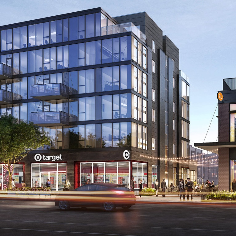 TARGET OPENING SMALL-FORMAT STORE AT WICKER PARK APARTMENT DEVELOPMENT - CHICAGO TRIBUNE, 12.18.2017