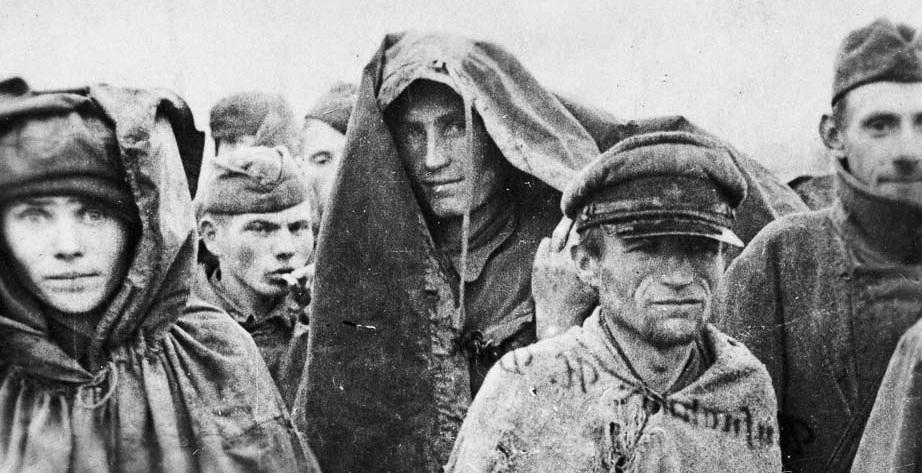 - Russian POWs at Stalag XVIIIA (Ref: DA-11663-F. Alexander Turnbull Library, Wellington, New Zealand)