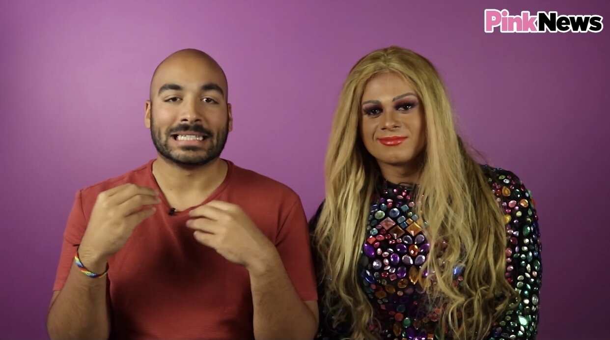 RuPaul's Drag Race UK - Watch Alexander Leon and I review the first ever episode of RuPaul's Drag Race UK with Pink News.