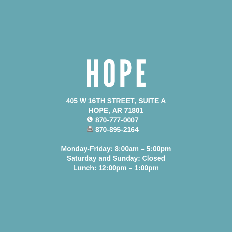 Hope, Ar Clinic
