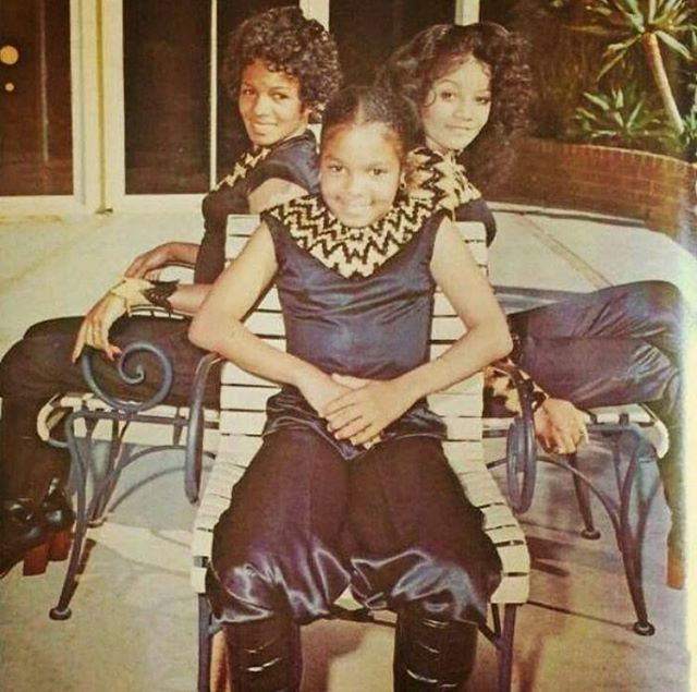 This is probably the coolest pic I've seen of my mom and my aunts. I would've loved to hear the music they made from then. #tbt #70s #startcratediggin