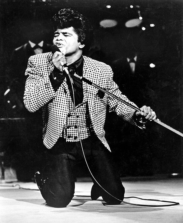 Happy born day to the architect of what it means a be a showman. James Brown is the blueprint of soul, fire and love hitting the stage at the same time. #soul #legend #goat