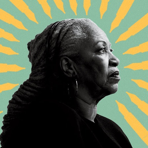 """""""he licked his lips. well if you want my opinion-"""" """"i don't,"""" she said. """"i have my own."""" - Toni Morrison, BELOVED  here's to the great author and a woman that shifted culture. may we all be as strong and resilient as she was and as wonderful with words as she will forever be ❤️ • • • • • • •  #mnbgo #mnbvip #tonimorrison #dcnails #dmvnails #mobilesalon #marylandnails #nailtech #riptonimorrison"""