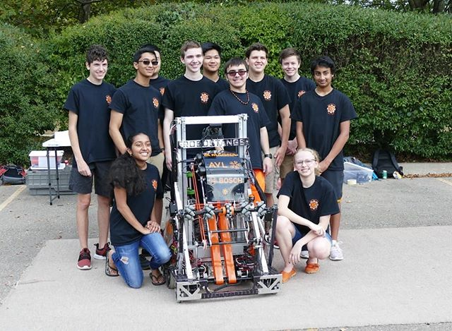 Today we attended our sponser AVL's Car Show to show our robot. Thank you AVL!