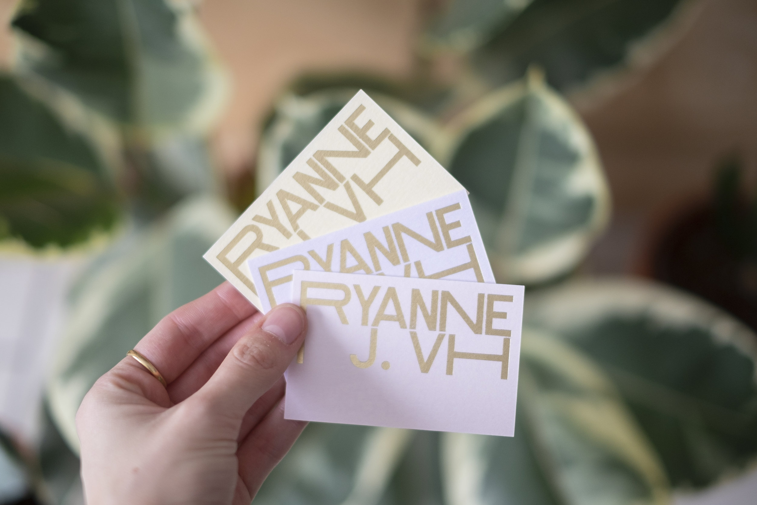Ryanne J.VH - More logos