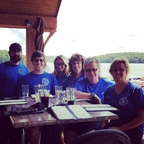 3rd annual employee appreciation luncheon on a beautiful Wednesday afternoon. Thanks to all my employees, I couldn't have done it without you! Now off to start a hard earned vacation..bye! #lakehopatcong #employeeappreciation #battenthehatchesnj #stonewaternj