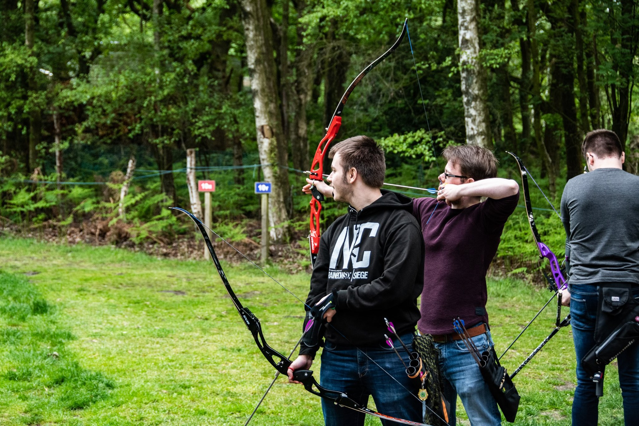 Inclusion and acceptance - We come from all walks of life to attend University, united by our love for Archery.
