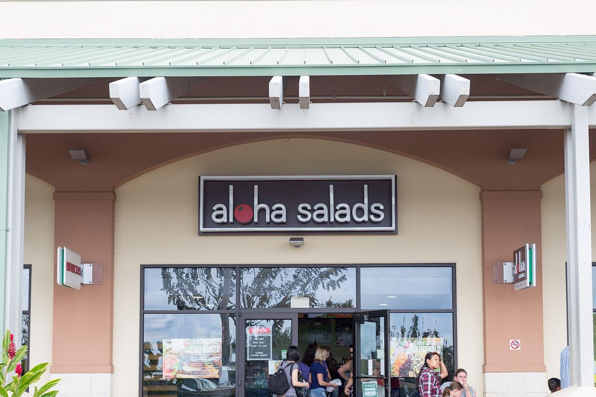 Aloha Salads - Healthy salads, subs, and soups