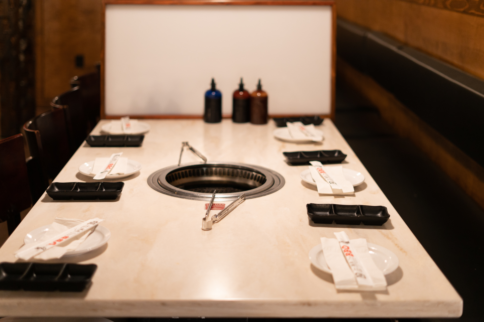 Gyu-Kaku - Japanese restaurant with personal charcoal grills at every table.