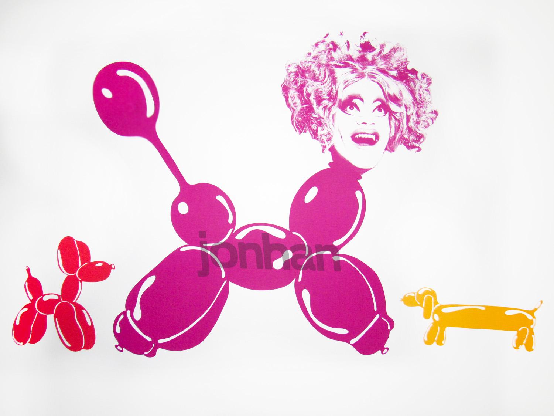 Bimbozo The Clown - Starring Carla Rossi