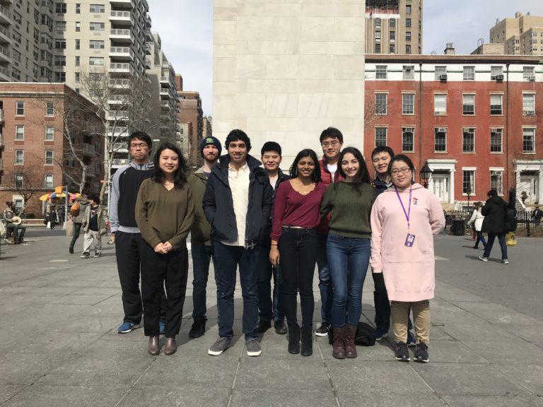2018 Spring Group Photo at Washington Square Park