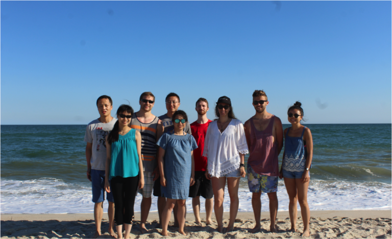 2016 Summer Group Photo at the beach!