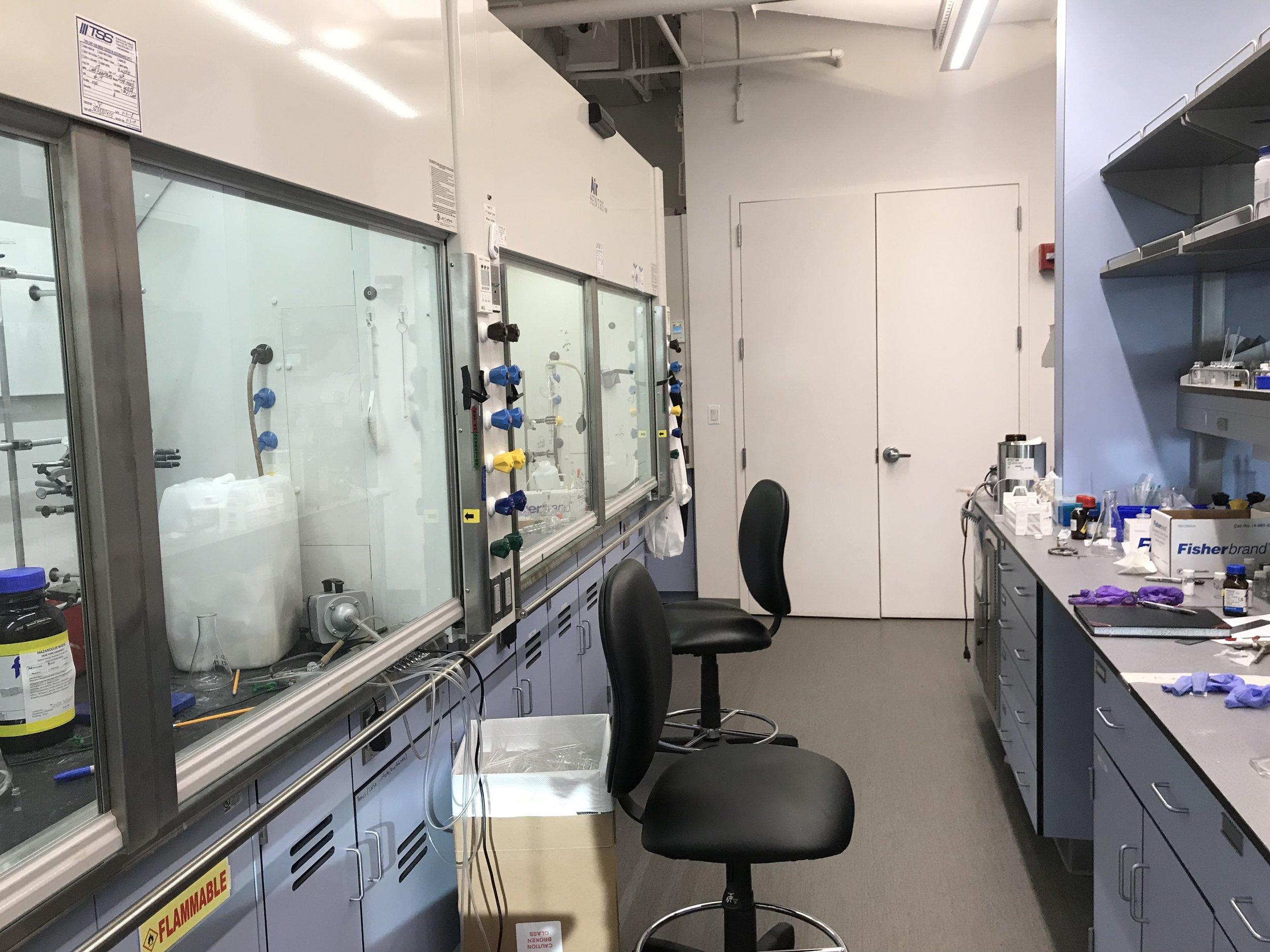 Fume Hoods/Lab Space