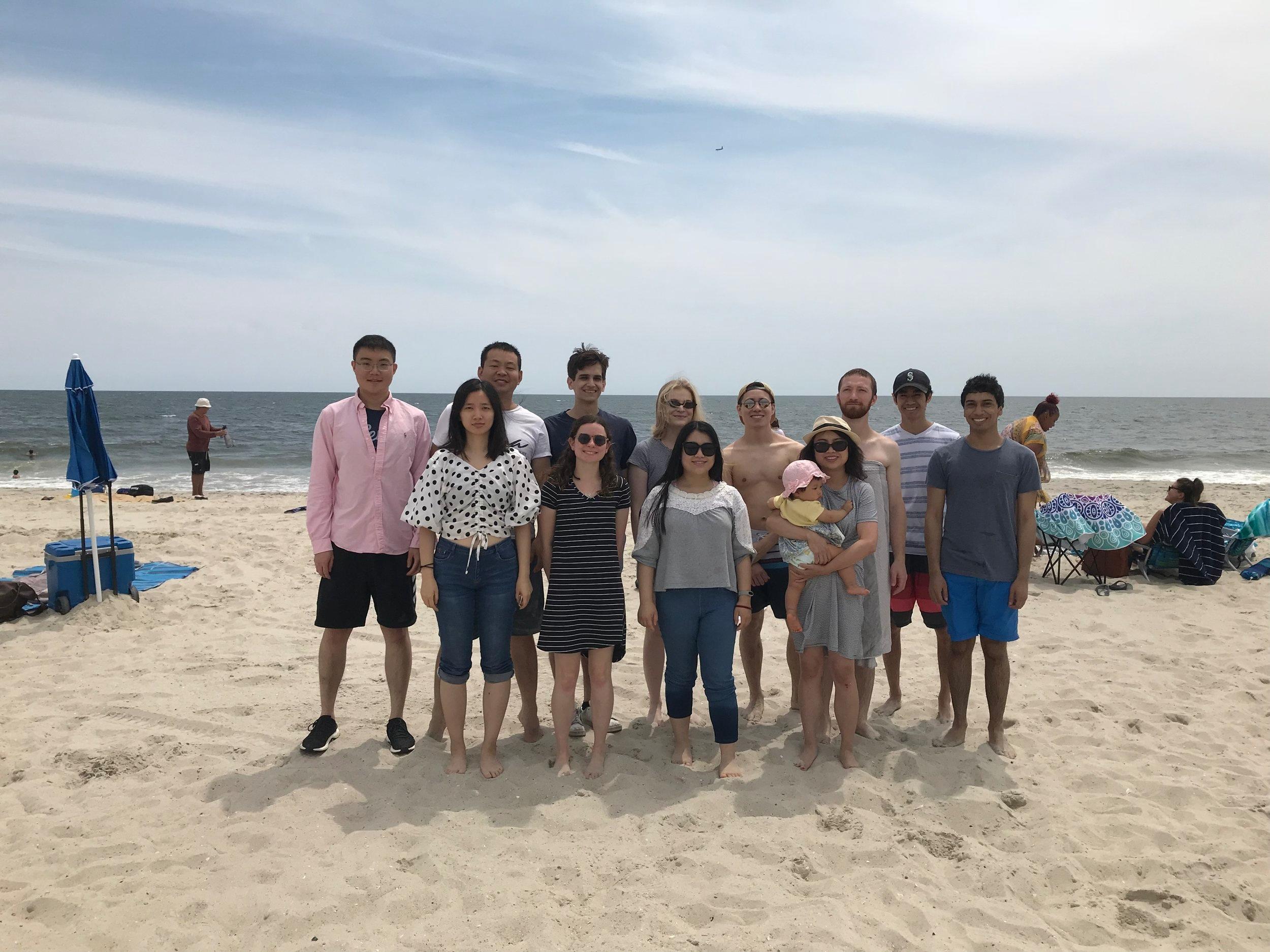 2019 Summer Group Photo at Rockaway Beach!