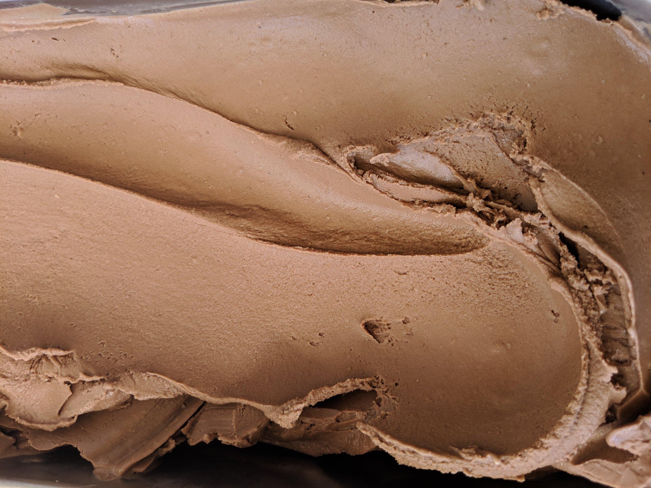 Vegan Chocolate Haupia looking all decadent