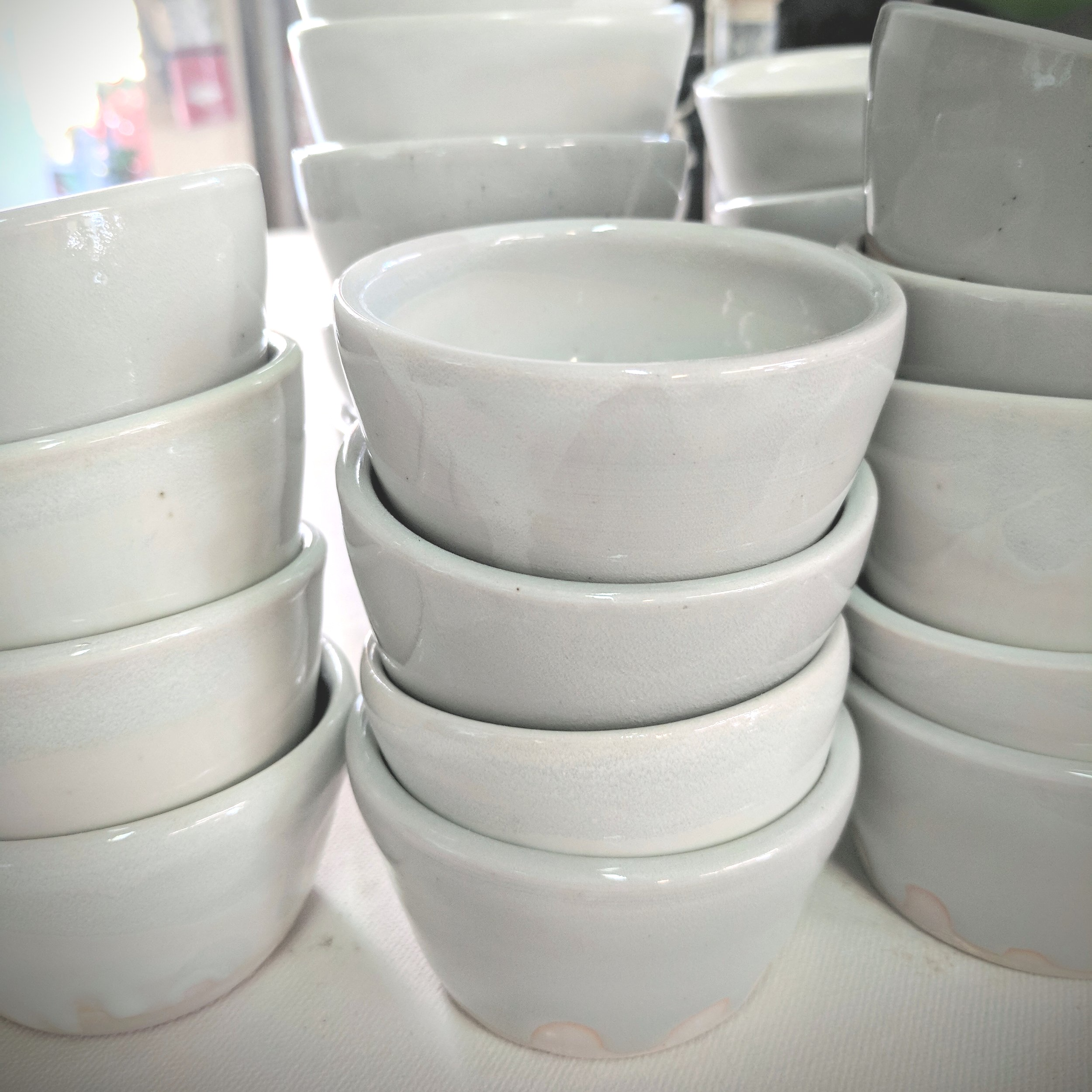 Photo: Reusable ceramic cups to decrease single use wasted items