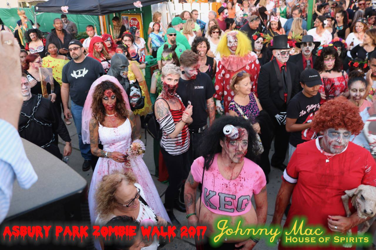 Asbury Park Zombie Walk 2017 - Click Here for All Photos