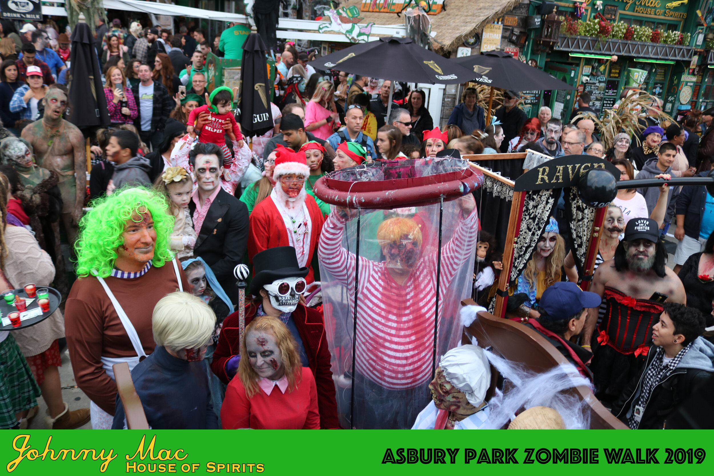 Asbury Park Zombie Walk 2019 - Click here for all photos