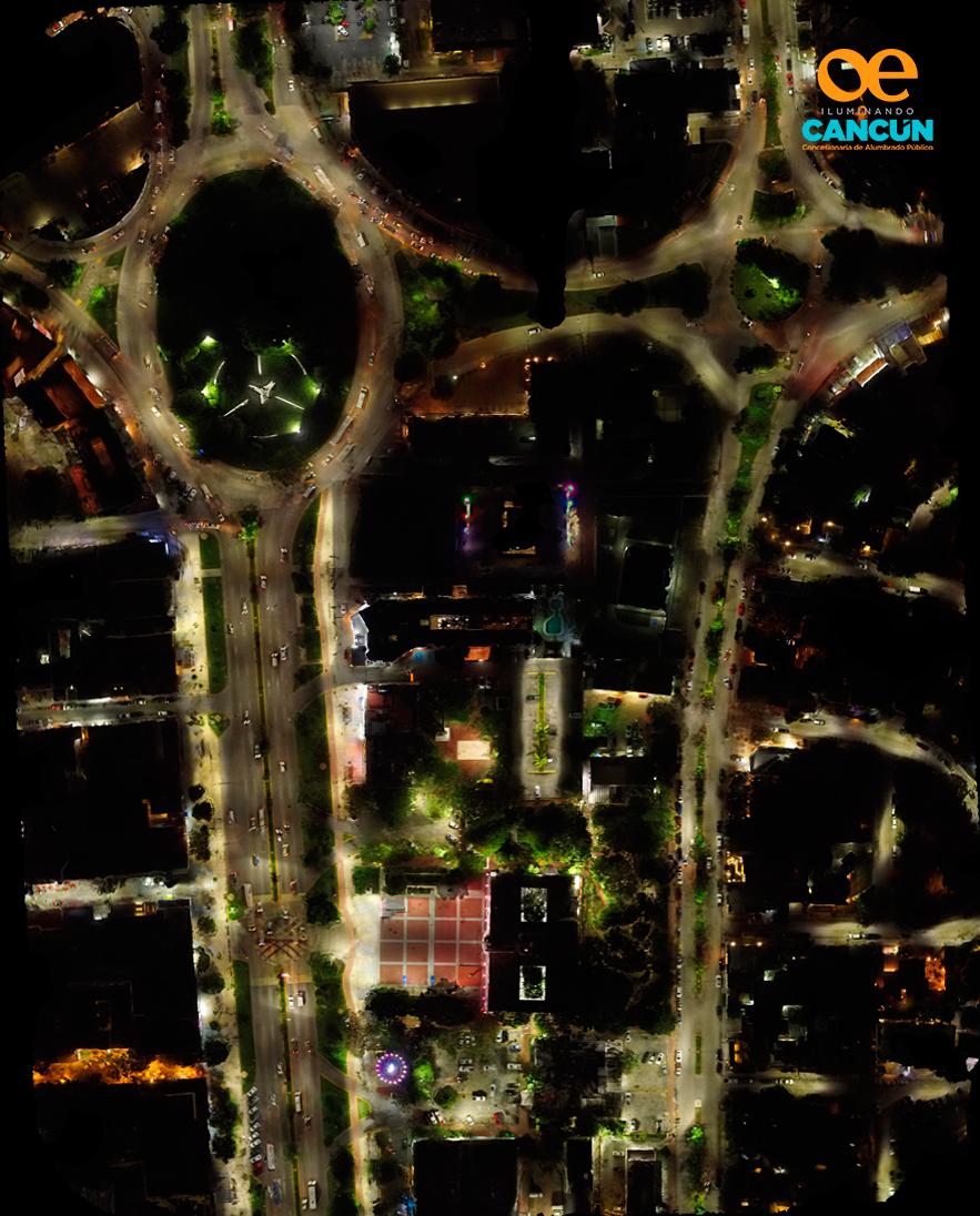 MODERNIZACIÓN DE ALUMBRADO PÚBLICO - Remplazo de tecnología para lograr incrementos lumínicos y una eficiencia energética para brindar un mejor servicio a Cancún, Quintana Roo.