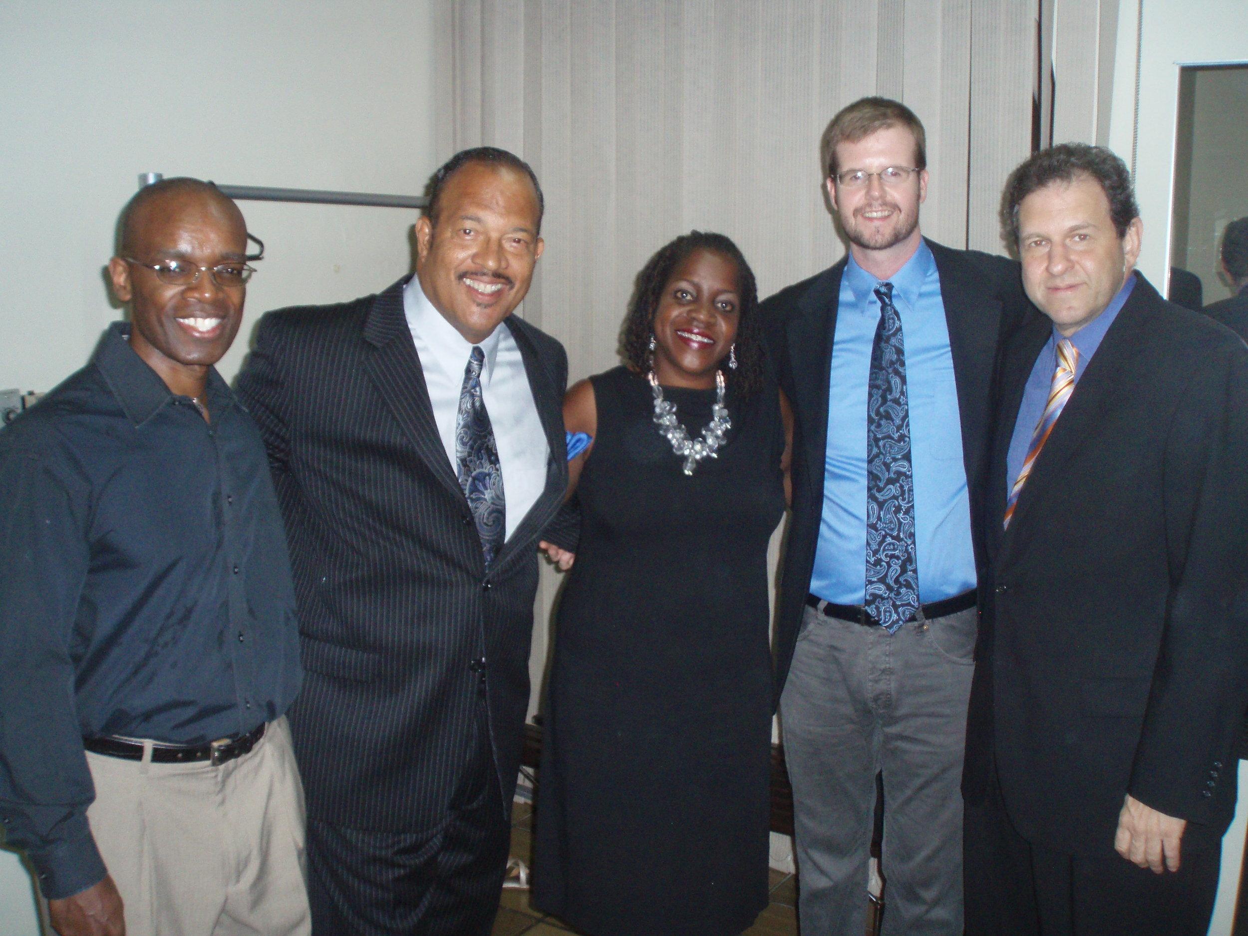 w/ Rudy Royston, Steve Kroon, Willie Harvey & Bruce Barth