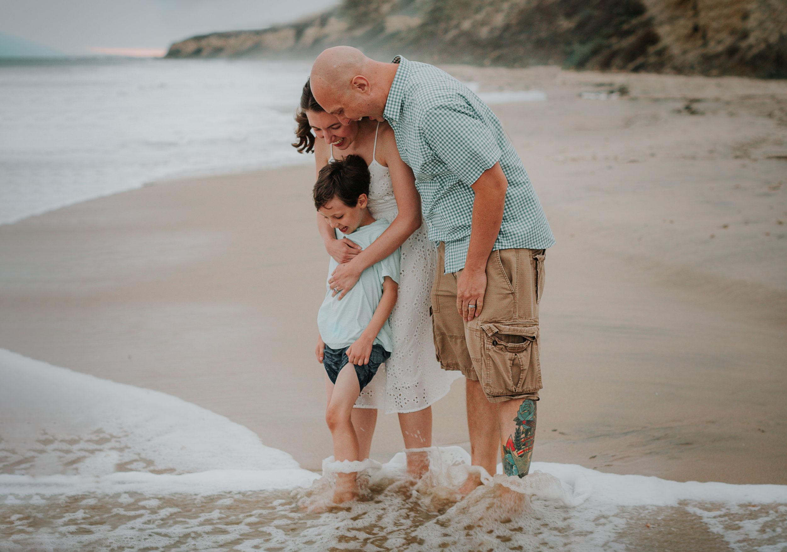 """Karyn, you captured our family in a way that told our story perfectly and changed the way we feel about having our pictures taken- we actually look forward to it now"". - Vanessa + Tom"