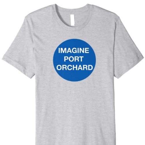 Imagine Blue - *T-shirt is available in 5 colors