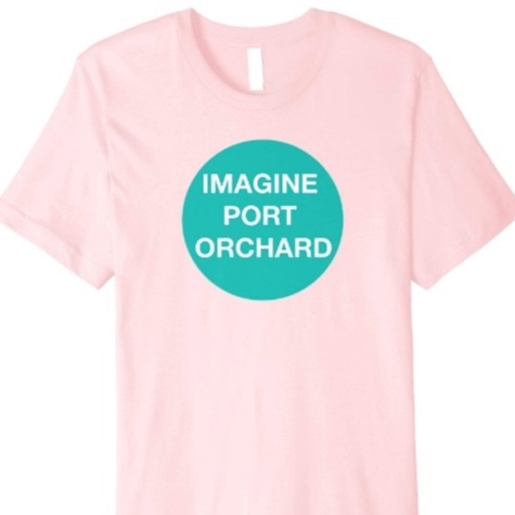 Imagine Teal - *T-shirt is available in 5 colors