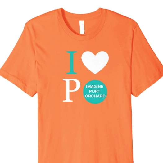 I Heart Port Orchard - *T-shirt is available in 5 colors