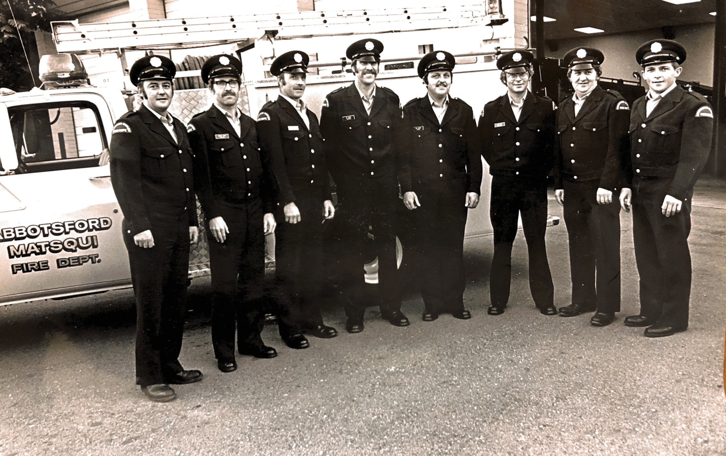 Abbotsford Fire Fighters Association Local 2864 - The Original Eight