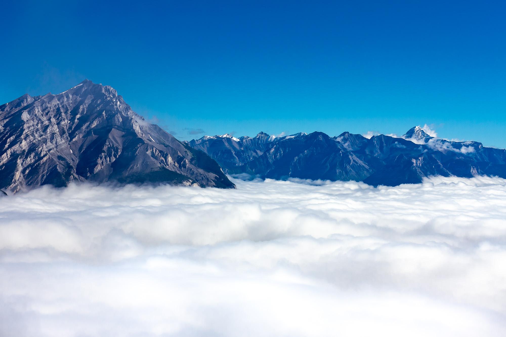 Banff, Canadian Rockies - Sulphur Mountain
