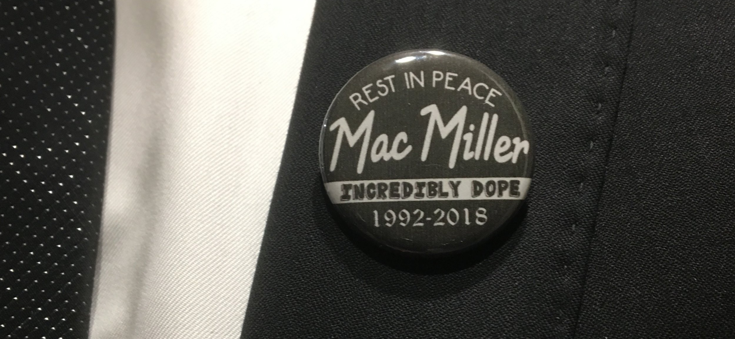My pin for the evening, courtesy of  thelotlizard  on Etsy. Rest Easy, Mac.