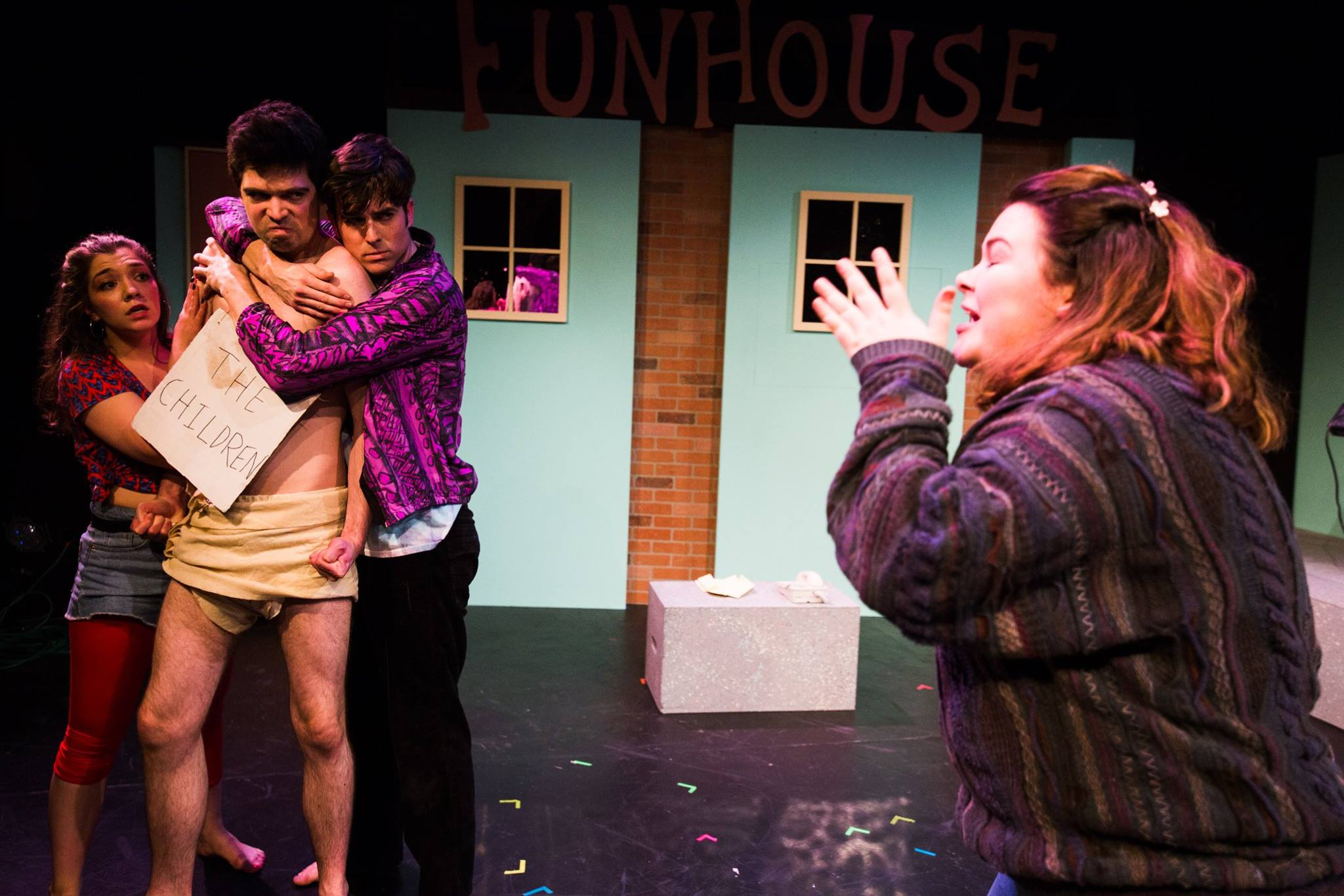 """For the Children"" at Seattle's Theatre Off Jackson. Image credit: Tommy Calderon"