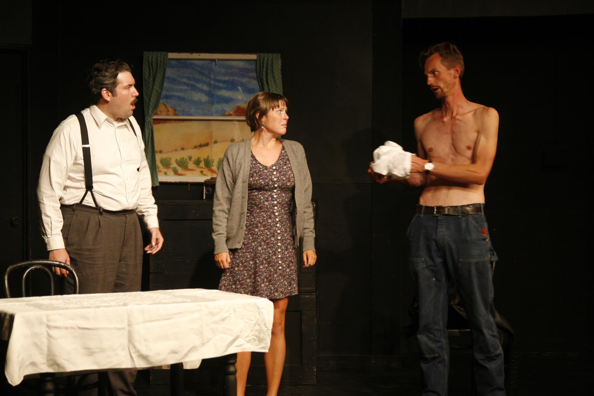"""Scars"" at the Idiom Theatre."