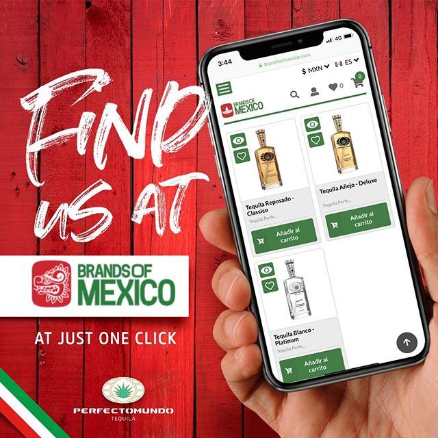 Getting closer to you. Now find us at https://brandsofmexico.com/es/brands/tequila-perfectomundo��Cada vez más cerca de ti. Ahora encuéntranos en https://brandsofmexico.com/es/brands/tequila-perfectomundo�⠀ #perfectomundotequila #besttequila  #lavidaperfecta #tequila #tequilatequila #brandsofmexico #mexico #mexico🇲🇽q