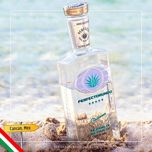 #Perfectomundo is all you need on a beach day.⠀ ⠀ …⠀ ⠀ #Perfectomundo es todo lo que necesitas en un día de playa.⠀ ⠀ ⠀ #perfectomundotequila #besttequila  #lavidaperfecta #tequila #tequilatequila #brandsofmexico #mexico #mexico🇲🇽 #cancun #cancun2019 #cancunmexico #beachday #beachdays