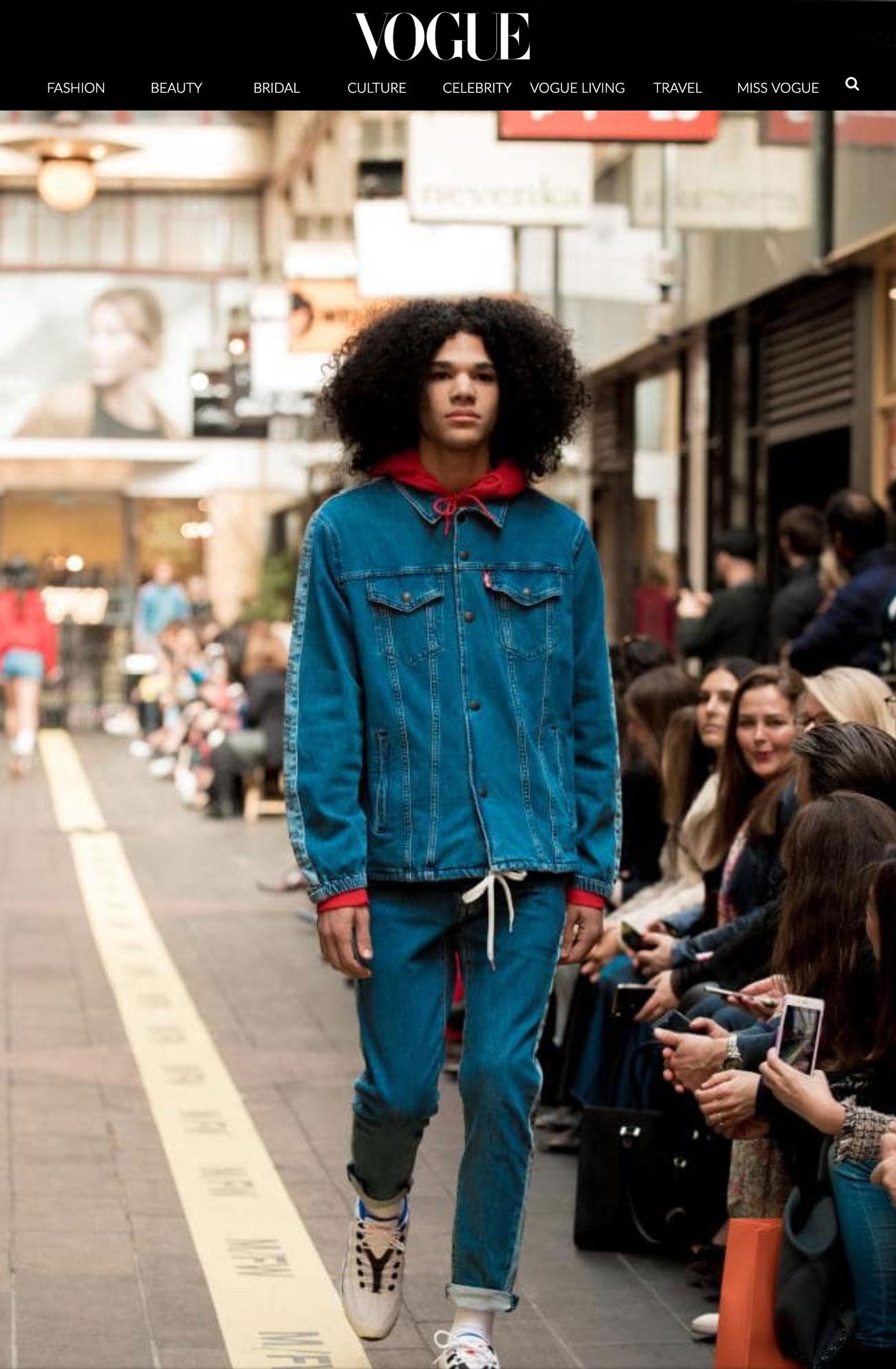 Dexter - MFW Street Runway 1 - Opening. View full Vogue article.