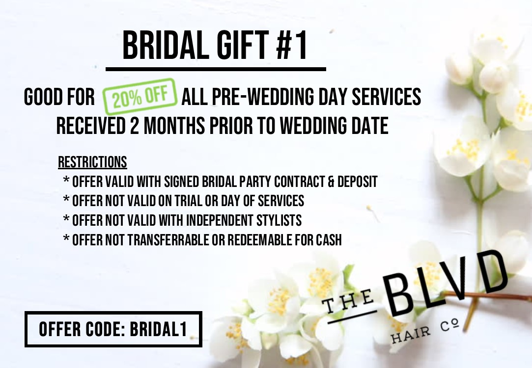 Bridal Hair Promotion St Louis MO
